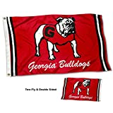 College Flags & Banners Co. Georgia Bulldogs Vault Throwback Vintage Double Sided Flag