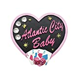 3D Atlantic City New Jersey USA Kühlschrank Kühlschrankmagnet Tourist Souvenirs...