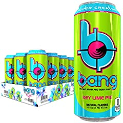 Power Up with bang's potent brain & body-rocking fuel: super CREATINE, ca­eine, nitro-jack & EAAs (essential amino acids). Life is an extreme Sport and bang is the extreme energy source to live life extreme! Includes 16oz cans 12 count