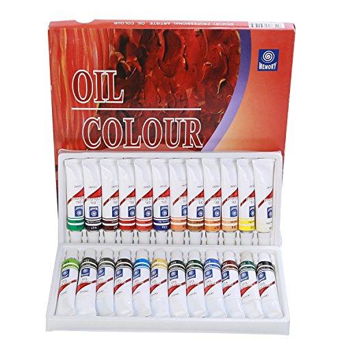Amagic Oil Paint Set - 24 Colors x 12 Milliliter Tubes - Artist Quality Art Paints …