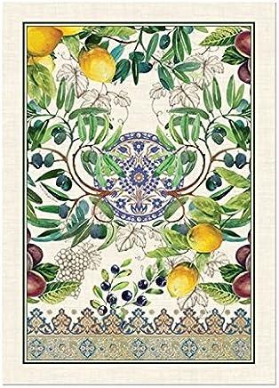 Michel Design Works Cotton Kitchen Dish Towel,  Tuscan Grove
