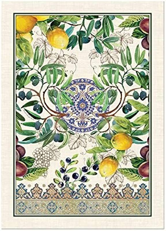 Michel Design Works Cotton Kitchen Dish Towel Tuscan Grove