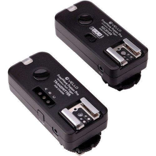 Vello FreeWave Fusion Pro Wireless Flash Trigger and Remote Control for Canon DSLRs