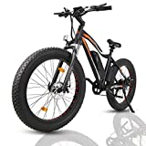 "ECOTRIC Powerful Electric Bicycle 26"" Fat Tire..."
