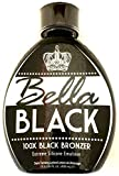 Bella Black 100x Bronzer Indoor/Outdoor Tanning Bed Lotion 13.5 oz - New 2020 Bronzing Blend