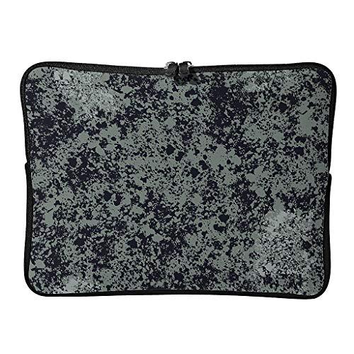 Normal Marmor Textur Laptoptaschen Niedlich Wasserdicht - Abstrakt Laptoptasche Geeignet für Geschäftsreise White 15 Zoll