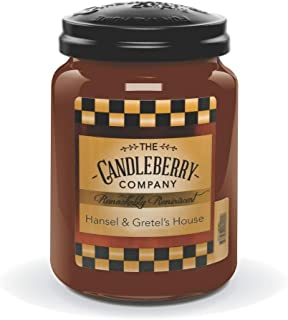 Candleberry Hansel GRETELS House, Fine Fragrance Candle The Home, Large Glass Jar, 26 OZ