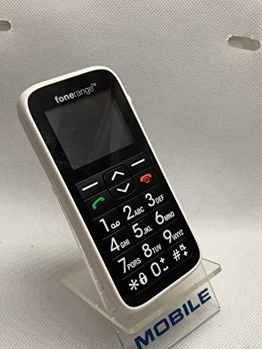FoneRange (EMFR 102) - Teléfono móvil Desbloqueado, Color Blanco