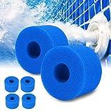 SK-LBB Spa Filter para Intex Tipo S1, filtro de piscina, reutilizable/lavable, esponja filtrante para Spa Intex Pure Spa Tipo S1 (10 unidades)