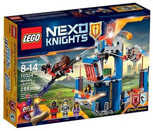 Lego Nexo Knights 70324 Merlock's Library 2.0 288 Piece set by LEGO