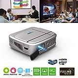 "Best 3d Projectors - Mini Portable DLP Projector Support 1080p/3D/WIFI/100"" Display/Auto Keystone Review"