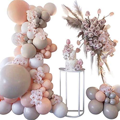 YDong 105 StüCk Latex Macaron Ballon Kombinations Set / Gold Ballons Garland Arch Kit für Geburtstag / Party / Hochzeits Dekoration