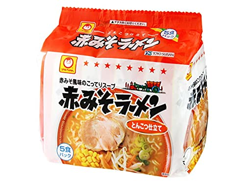 マルちゃん 赤みそラーメン 5食パック×6 30食セット