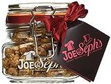 JOE & Seph's Bocal de Pop-Corn Caramel/Chocolat Belge 500 ml