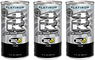 3 cans of New BG 44K Platinum