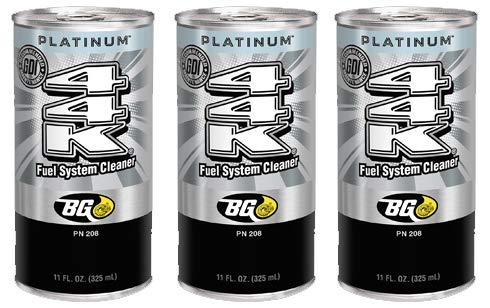 3 cans of New BG 44K Platinum