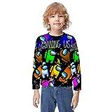 Among Us Impostors - Sudaderas con capucha para adolescentes con impresión 3D y bolsillos para niños/niñas