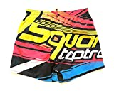 Dsquared Costume da Bagno Uomo Boxer Corto D7B6G2680.999 Bionic Swim Shorts TG. 48 IT