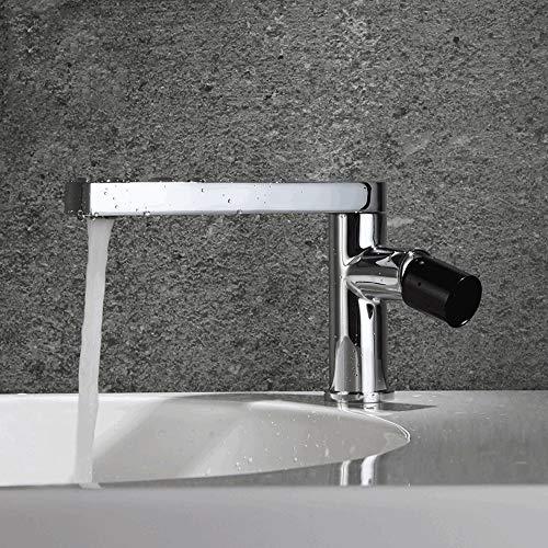 LHTCZZB Válvula mezcladora Fino Cobre Caliente Y Frío Lavabo Grifo Cuarto de baño Lavabo Orificio Grifo Nuevo diseño Estilo