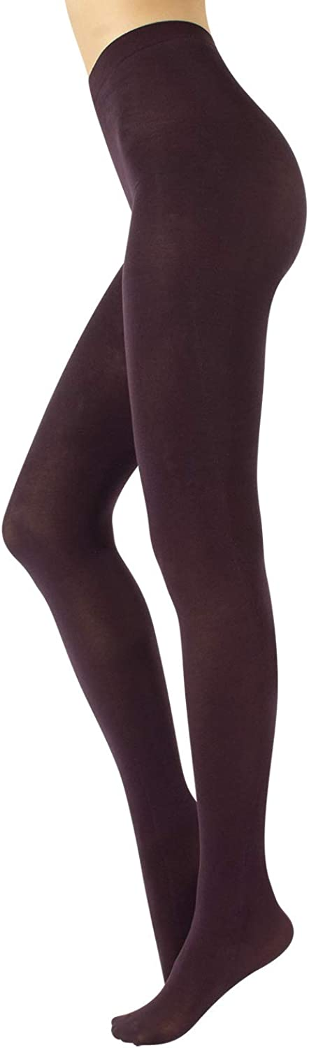 Cotton Tights   Soft & Warm Winter Pantyhose   100 Den   S M L Xl   Made In Italy  