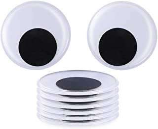 Sntieecr 8 Pack 5.1 Inch(13 cm) Large Wiggle Googly Eyeswith Self Adhesive for Craft Decorations