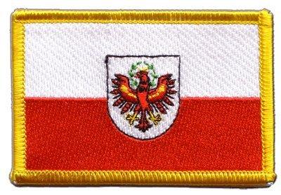 Aufnäher Patch Flagge Österreich Tirol - 8 x 6 cm