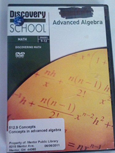 Discovering Math: Concepts in Advanced Algebra