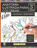 ANATOM�A ILUSTRADA PARA COLOREAR: 3° parte. Sistema Nervioso. Incluye contexto clínico. (El Saber)