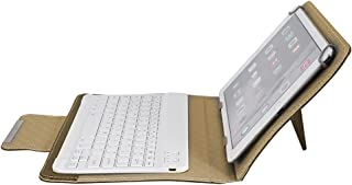 Soapow 10 surfplatta laptop universellt PU-skyddsfodral + bluetooth tangentbord för Android/IOS/WIN