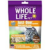 Whole Life Pet Healthy Cat Treats, Human-Grade Whole Chicken Breast, Protein Rich for Training,...