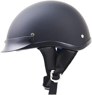 Jet-Helm Roller-Helm Blau LALEO Retro Harley Offenes Motorradhelm Damen und Herren ECE Genehmigt Schwarz Pink Wei/ß 54-60cm