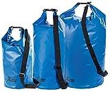 Xcase Wasserdichter Beutel: Urlauber-Set wasserdichte Packsäcke 16/25/70 Liter, blau (Wasserfeste Packsäcke)