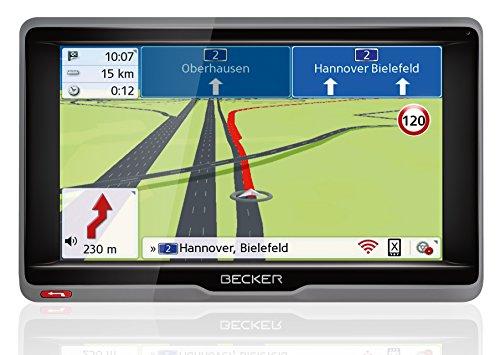 Becker ready.6l EU plus Navigationsgerät (15,8 cm (6,2 Zoll) Bildschirm, 45 Länder vorinstalliert , TMC, Bluetooth, inkl. MagClick Aktivhalter)
