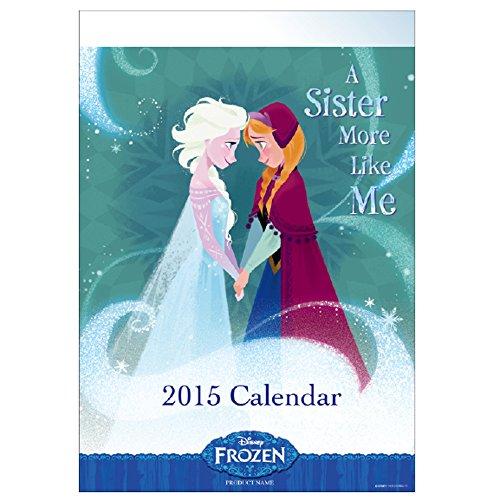 A.P.J. 2015年度カレンダー ディズニー アナと雪の女王カレンダー 壁掛け No.225 1000058159