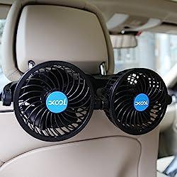 Image of Car Fan, XOOL Electric Car...: Bestviewsreviews