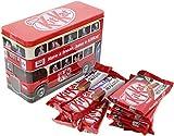 boite de chocolat en forme de bus impérial anglais 4 Kit Kat Chunky's et 4 Kit Kats