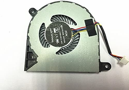 New CPU Cooling unisex Fan Replacement for Inspiron 7368 Orleans Mall 5568 Dell 5368