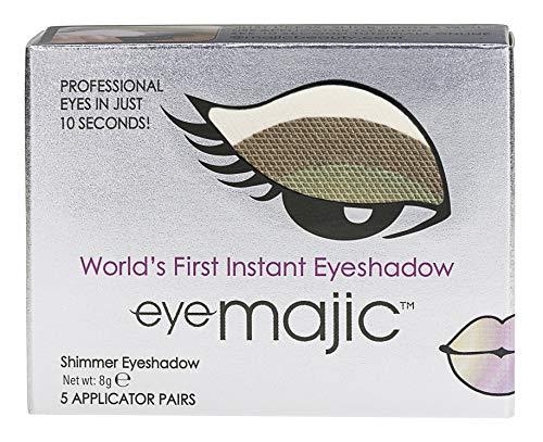 Eye Majic - Instant-Lidschatten - leichtes, professionelles Make-up in 10 Sekunden - 5 Paar - Double...