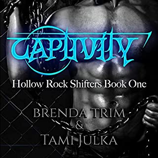 Captivity audiobook cover art