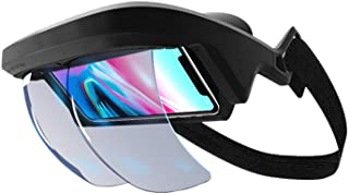 Vaorwne Intelligent Ar Glasses 3D Video Augmented Reality Vr Headphones for 3-D Video and Games on The and Android(4.5-5.5 Screen)