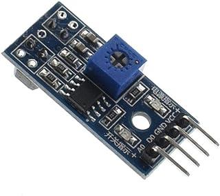 1 PZ TCRT5000 Infrarossi Riflettente IR Interruttore Fotoelettrico Linea Barriera Modulo Sensore di traccia blu