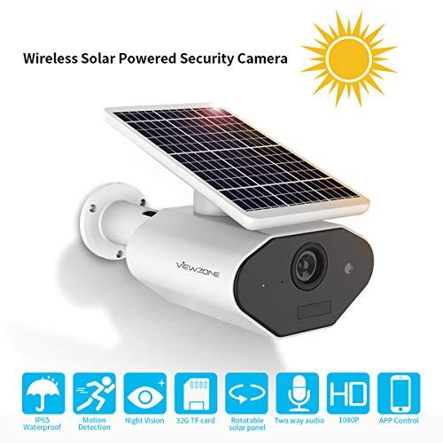 Viewzone Outdoor Solar Security Camera