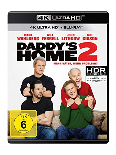 Daddy's Home 2 - Mehr Väter, mehr Probleme!  (4K Ultra HD) (+ Blu-ray 2D)