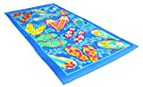 Fashion Colorful Terry Cotton Beach Towel, 30x60', Soft Absorbent and Dry Fast for Swimming Pool, Beach and Spa-Summer Sandals