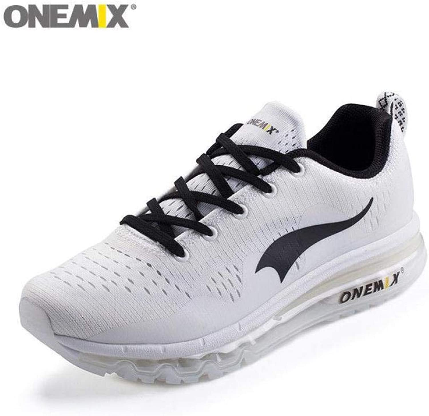 FidgetFidget Fashion Women's Smart Running shoes Athletic Sneakers Casual Gym Trainers Whit5.5 White