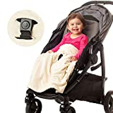 Product Image of the Non-Slip Stroller Blanket by Intimom- Soft Baby Blanket for Infant Car Seat,...