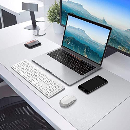 Almohadilla de escritorio multifuncional transparente, protector de escritorio impermeable, 150 x 60 cm, alfombrilla de ratón para escritorio de oficina y hogar
