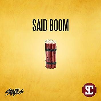 Said Boom
