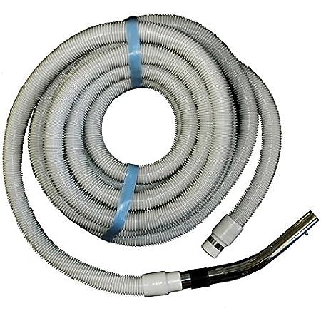 10,5m or 12,2m Central Vacuum System Main Hose Set Comfort Hose Set 9,1 M