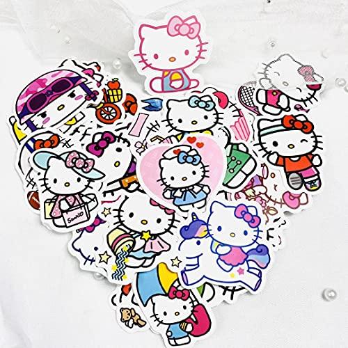SHUHU Don't Repeat Cute Hollekitty Hello Kitty Water Cup Skateboard Phone Notebook Casco Pegatinas 50 Hojas